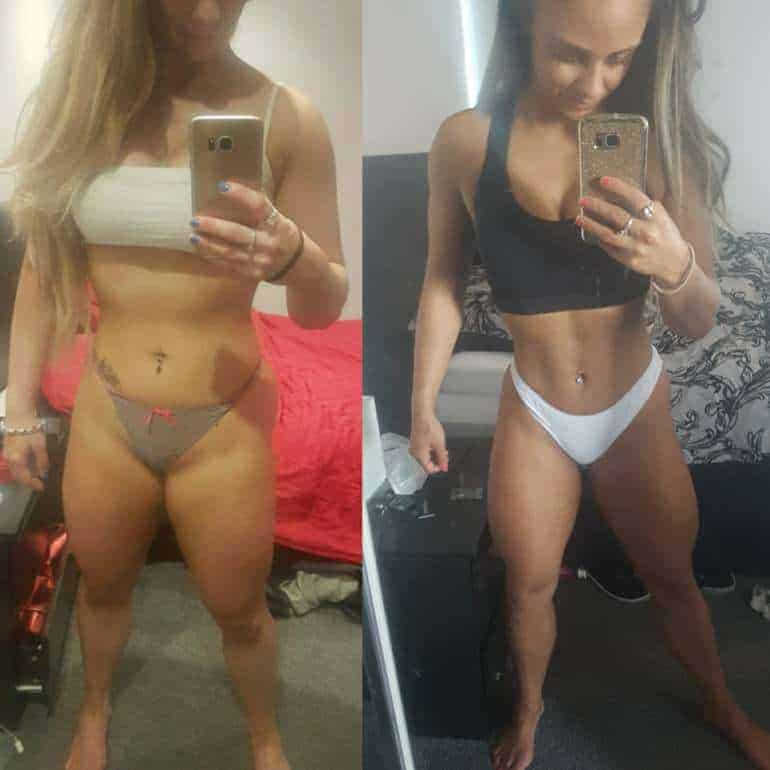 online personal trainer client results kat