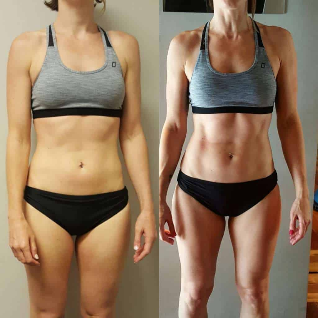Precision Performance Coaching Online Trainer Results Sarah
