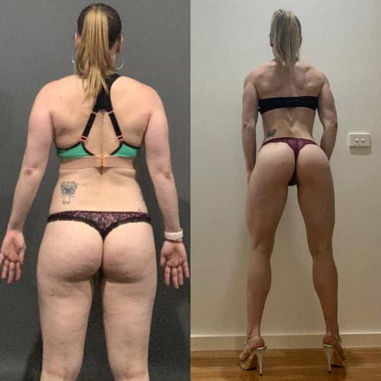 Precision Performance Coaching Online Trainer Results Lisa 2
